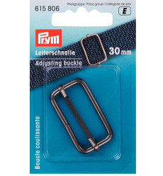 Prym Adjusting Buckle 30mm Antique Silver - 1 Piece