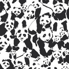 Pandalicious Pandalings Pod Assured Canvas