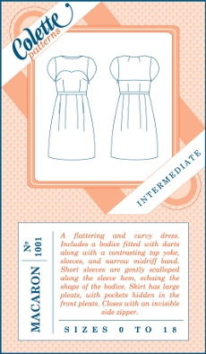 Macaron Dress Pattern - Colette Patterns