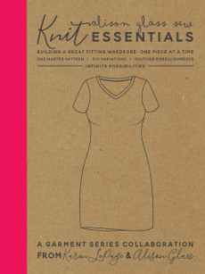 Knit Essentials Garment Pattern - Alison Glass Patterns