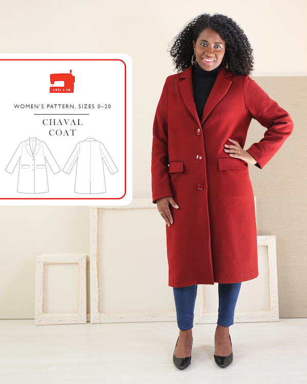 Chaval Coat Pattern by Liesl + Co