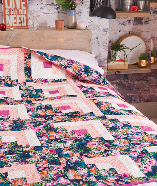 Love Patchwork & Quilting Issue 80 - Bloomsbury Quilt