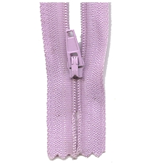 Make A Zipper Standard - 197in Long With 12 Zipper Pulls - Purple