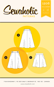 Hollyburn Skirt Pattern - Sewaholic Patterns