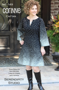 The Corinne Caftan Pattern - Serendipity Studio