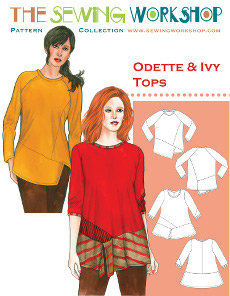 Odette & Ivy Tops Pattern - Sewing Workshop Pattern