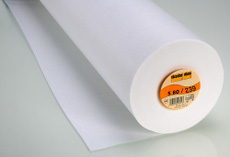 Vilene Pelmet Interfacing White 30cm X 25M