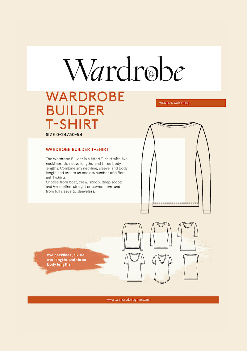 WBT T-Shirt Pattern by Wardrobe By Me