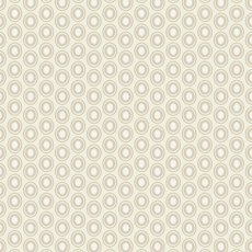 Oval Elements French Vanilla - Art Gallery Fabric 44in/45in Per Metre