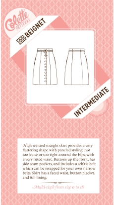Beignet Skirt Pattern - Colette Patterns