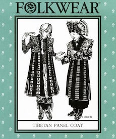Tibetian Panel Coat by Folkwear Patterns