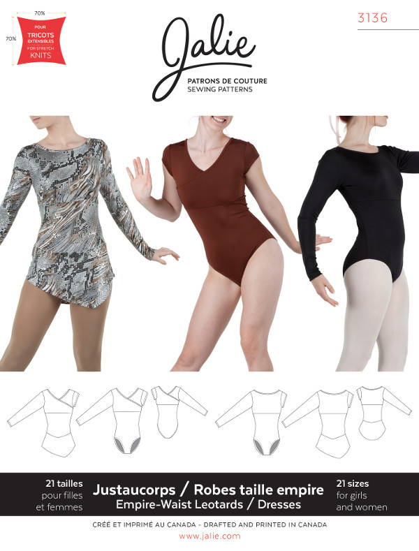 Leotards and Dresses - Jalie Patterns