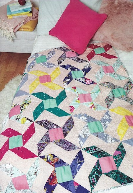 Quilt Now Issue 66 - Windmill Garden Quilt