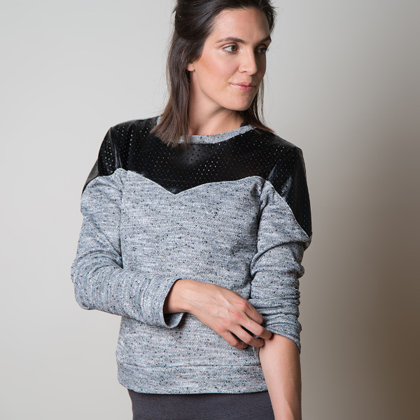 Fraser Sweatshirt Pattern - Sewaholic Patterns