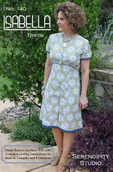 The Isabella Dress Pattern - Serendipity Studio