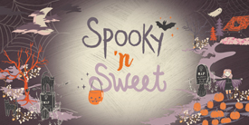 Spooky and Sweet Art Gallery Fabrics Sample Pack