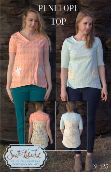 Penelope Top Sewing Pattern - Sew Liberated
