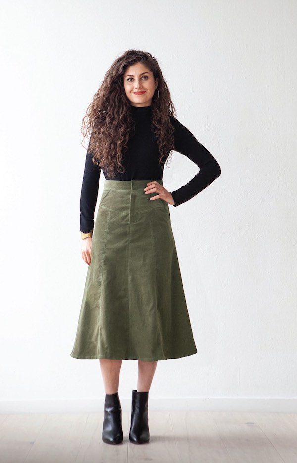 The Salida Skirt - True Bias Patterns