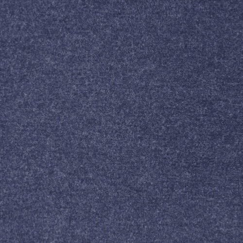 Milano Navy Heathered Viscose Jersey Fabric