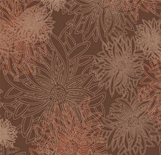 Floral Elements Spicy Brown - Art Gallery Fabric 44in/45in Per Metre