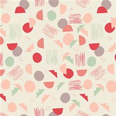 Hello Ollie Village Tundra Sprout - Art Gallery Fabric Organics 44in/45in Per Metre