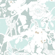 Blithe Arcadia Bliss Shine (metallic) - Art Gallery Fabric 44in/45in Per Metre