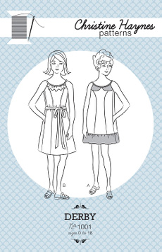 Derby Dress Pattern - Christine Haynes Patterns