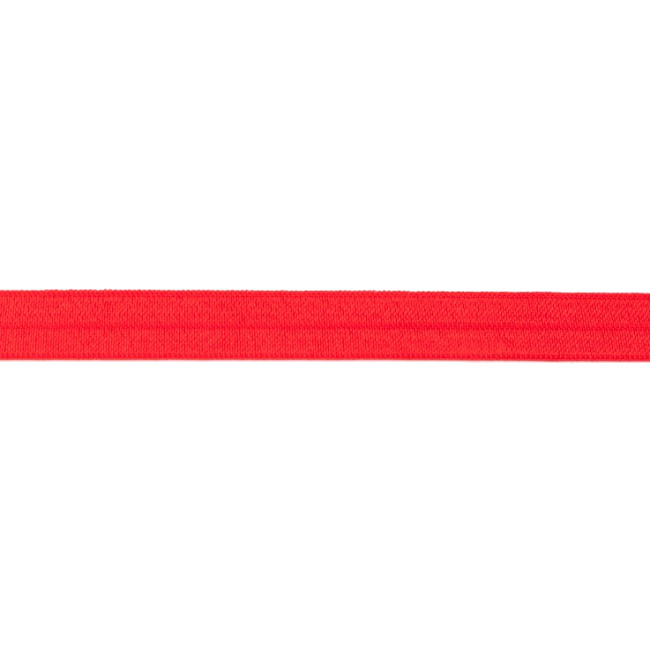 Red Foldover Elastic - 16mm X 25m