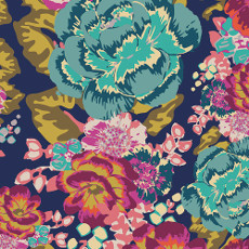 Boho Fusion Acqua Di Rose Boho - Art Gallery Fabric Per Metre