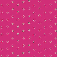 Indie Boheme Brief Mementos Pink - Art Gallery Fabric 44in/45in Per Metre