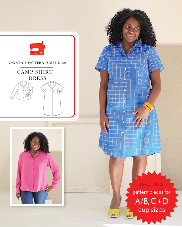 Camp Shirt + Dress Pattern by Liesl + Co