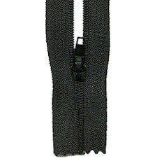 Make A Zipper Standard - 197in Long With 12 Zipper Pulls - Black
