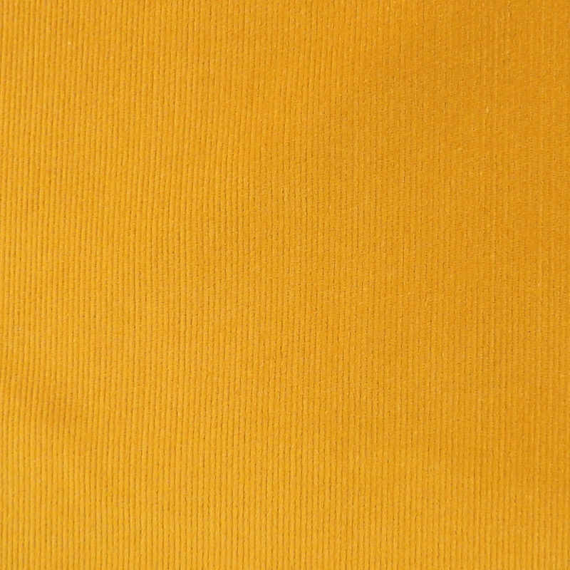 Hartford Ochre Fine Stretch Needlecord Fabric