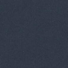 Navy 2 x 2 Tubular Ribbing