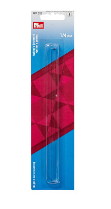 Prym 1/4in Clear Acrylic Guide (quilters quarter)