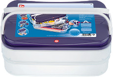 Prym Click Box Jumbo - 2 Trays And Lid 40cm X 26.5cm X 17.5cm