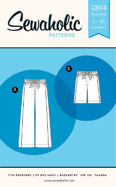 Tofino Pants Pattern - Sewaholic Patterns
