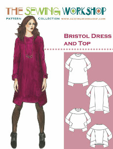 Bristol Dress & Top Pattern - Sewing Workshop Pattern