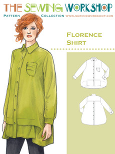 Florence Shirt Pattern - Sewing Workshop Pattern