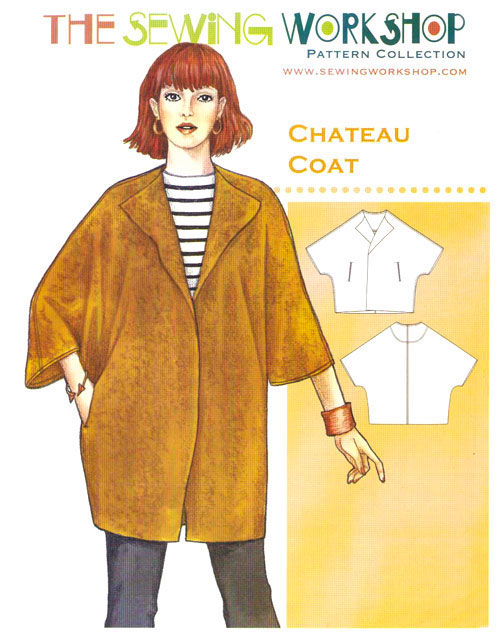 Chateau Coat Pattern By The Sewing Workshop