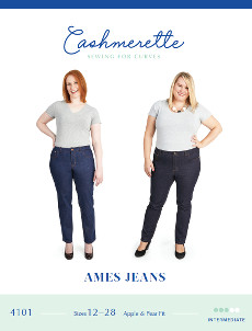 Ames Jeans Pattern - Cashmerette Patterns