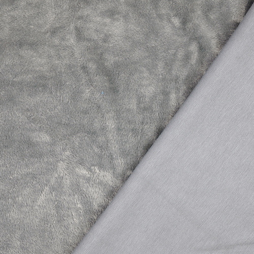 Riga Dark Grey Supersoft Sweatshirt with Alpen Fleece Back Fabric