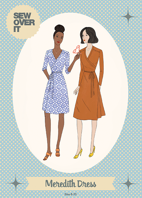 Meredith Wrap Dress Pattern - Sew Over It