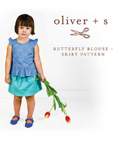 Oliver + S Pattern - Butterfly Blouse + Skirt (5 - 12 yrs)
