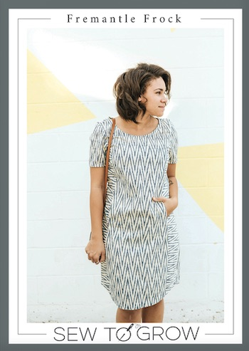 Fremantle Frock Dress Pattern By Sew to Grow