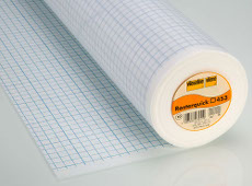 Vlieseline Quickscreen 90cm X 30 Metre - Foundation Square Printed Grid